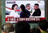 استقبال گرم رهبر کره شمالی از رئیس جمهور کره جنوبی+فیلم و تصاویر
