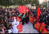 حال و هوای استان فارس در ایام محرم؛ از برافراشتن خیمه زرقان تا تعزیت سنگ در استهبان + فیلم