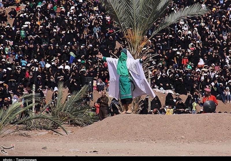 آئینهای ماه محرم در استان فارس؛ از تعزیه شیراز تا مرثیهسرایی سنگ در استهبان+فیلم
