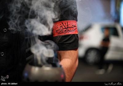 عزاداری شب هشتم محرم هیئت بیت العباس اسلامشهر