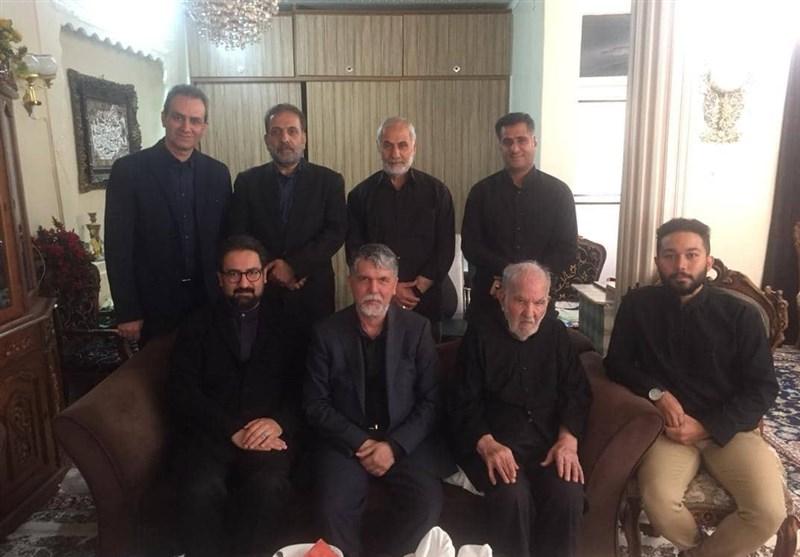 وزیر فرهنگ و ارشاد اسلامی با پیشکسوت تعزیه دیدار کرد