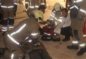 سقوط مرگبار نصاب آسانسور + تصاویر