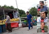 بازارچه دائمی دستفروشان شهر رشت؛ طرحی که سامان ندارد+فیلم