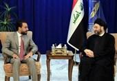 عراق|دیدار الحلبوسی و حکیم؛ تاکید بر ضرورت تشکیل دولتی قوی