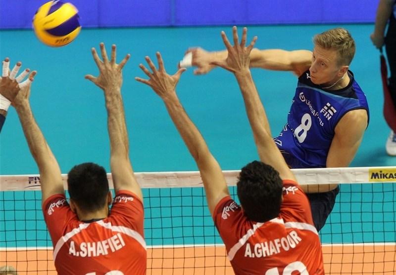 گزارش خبرنگار اعزامی تسنیم از بلغارستان| تیم ملی والیبال ایران در ماراتنی نفسگیر از سد فنلاند گذشت/ پایان مرحله نخست با 11 امتیاز