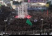 دسته بزرگ عزاداری حسینیه اعظم زنجان به روایت تصویر