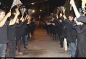 شور حسینی در شب عاشورا سمنان را از عطر عاشورایی آکنده کرد