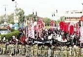 شہادت امام حسن عسکری علیہ السلام کی مناسبت سےملک بھر میں عزاداری اور جلوس