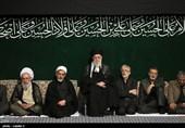 مراسم التاسع من محرم الحرام بحضور قائد الثورة الإسلامیة