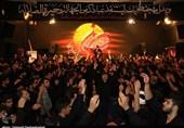 خوزستان| برگزاری مراسم عزاداری تاسوعای حسینی در هیئت روضة الزهرا(س) دزفول به روایت تصویر