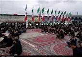 مراسم هفتم شهید مدافع حرم مازندران برگزار شد