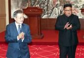 امضای بیانیه مشترک توسط رهبران دو کره
