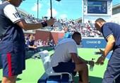 محرومیت داور مراکشی به خاطر تشویق تنیسور استرالیایی