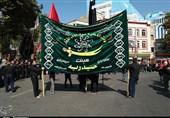 آذربایجان غربی| عزاداری مردم خوی در تاسوعای حسینی به روایت تصویر