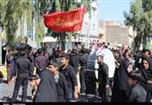 زاهدان یکپارچه غرق عزا و ماتم است؛ شکوه عزاداری مردم در تاسوعای حسینی+ تصاویر