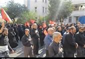مراسم عزاداری تاسوعای حسینی در اهواز برگزار شد