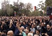 آئینهای عزاداری تاسوعای حسینی در شهرستانهای آذربایجان شرقی برگزار شد