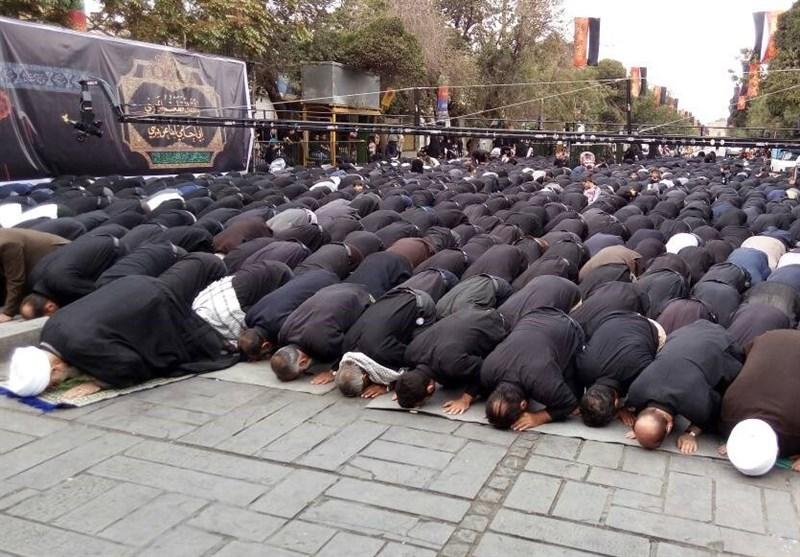 نماز ظهر تاسوعا در اقصی نقاط خراسانجنوبی اقامه شد