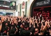 کاشان|مراسم روز تاسوعا در هیئت ابوالفضلی دهنو+تصاویر