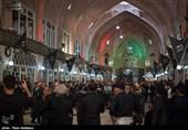 عزاداری تبریزیها در بازار بزرگ مظفریه + برنامهها