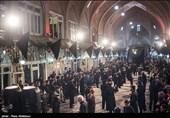 عزاداری سنتی و متفاوت در بازار تاریخی تبریز+فیلم
