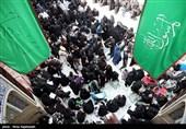 مشهد| خیابانهای اطراف حرم رضوی مملو از حضور سوگواران است