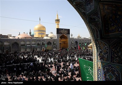 Shiite Muslims in Holy City of Mashhad Commemorate Tasou'a