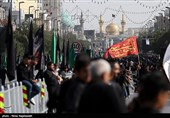 مشهدالرضا(ع) قلب تپنده عاشورائیان شد؛ شهر یکپارچه به سوگ نشست