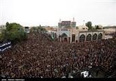 اردبیل| اجتماع عزاداران در روز تاسوعا به روایت تصویر