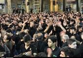 جلوهای از عزاداری مردم بهبهان در شب تاسوعای حسینی بهروایت تصویر