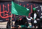 تعزیه روز تاسوعا در روستای دهزیار کرمان به روایت تصویر