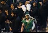 شبیه گردانی واقعه عاشورا در یزد بهروایت تصویر