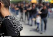 دستههای عزاداری مردم بجنورد در روز تاسوعای حسینی بهروایت تصویر
