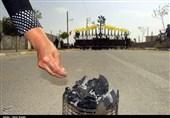 آئین تاریخی سوگواری تاسوعای حسینی در روستای محمودآباد سمنان بهروایت تصویر