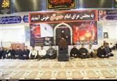 خوزستان| امامزاده عبدالله(ع) هندیجان مرکز ثقل عزاداری امام حسین(ع)