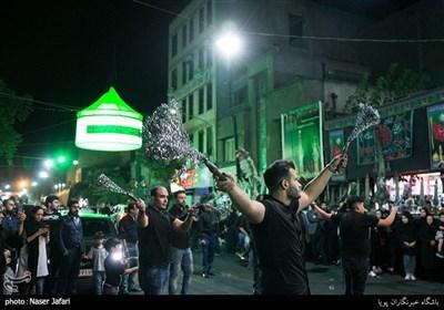 دسته های عزاداری در تهران