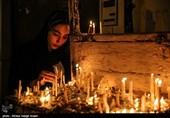 آئین شمعگردانی در 41 مسجد بازار تبریز بهروایت تصویر