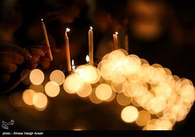 آیین شمع زنی شب عاشورا در بوشهر
