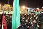 گزارش تسنیم از عزاداری پاکستانی های مقیم قم در هیات سیدالشهدا(ع)+عکس