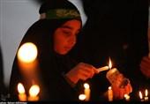 اردبیل| آئین شمعگردانی در شب عاشورا به روایت تصویر