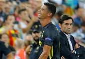 فوتبال جهان| سرمربی والنسیا: رونالدو گفت مرتکب خطایی نشده است/ یوونتوس از اشتباهات ما نهایت استفاده را برد
