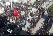 شور و شعور حسینی مردم کهگیلویه و بویراحمد در روز عاشورای حسینی بهروایت تصویر