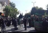 همزمان با عاشورای حسینی همدان یکپارچه به سوگ نشست+ تصاویر