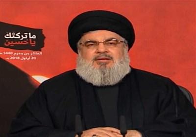"""السید نصر الله: من واجبنا الوقوف إلى جانب ایران..اذا فرضت """"اسرائیل"""" حرباً على لبنان ستواجه ما لم تتوقعه"""
