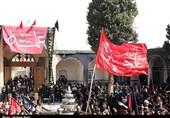 مراسم عزاداری ظهر عاشورا در کاشان برگزار شد+تصاویر