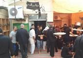 خوزستان| عزاداری سنتی همراه با برپایی سفر با برکت در حسینیه حلافی هندیجان