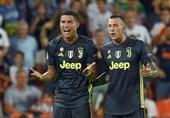 فوتبال جهان| واکنش بازیکنان یوونتوس به اخراج کریستیانو رونالدو
