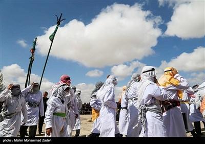 مراسم تعزیه در روستای علی آباد قوچان