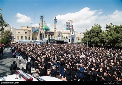 تجمع بزرگ عاشوراییان در میدان شهید طهرانی مقدم