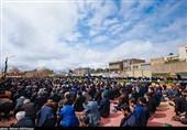 اقامه نماز ظهر عاشورا در اردبیل به روایت تصویر